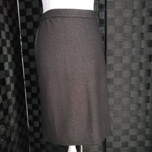 Spense Black Sparkle Skirt